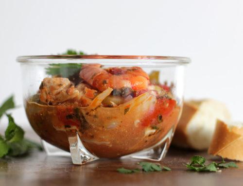 Portugiesische Fischsuppe