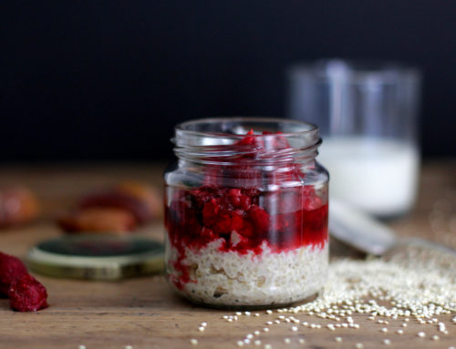 Quinoa-Porridge mit Früchten