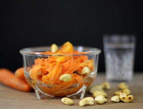Exotischer Rüeblisalat mit Orangen