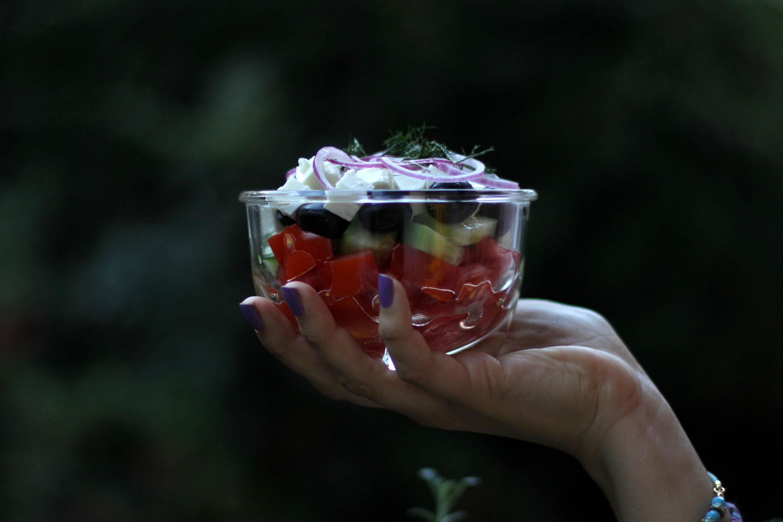 Schnickschnackloser Griechischer Salat